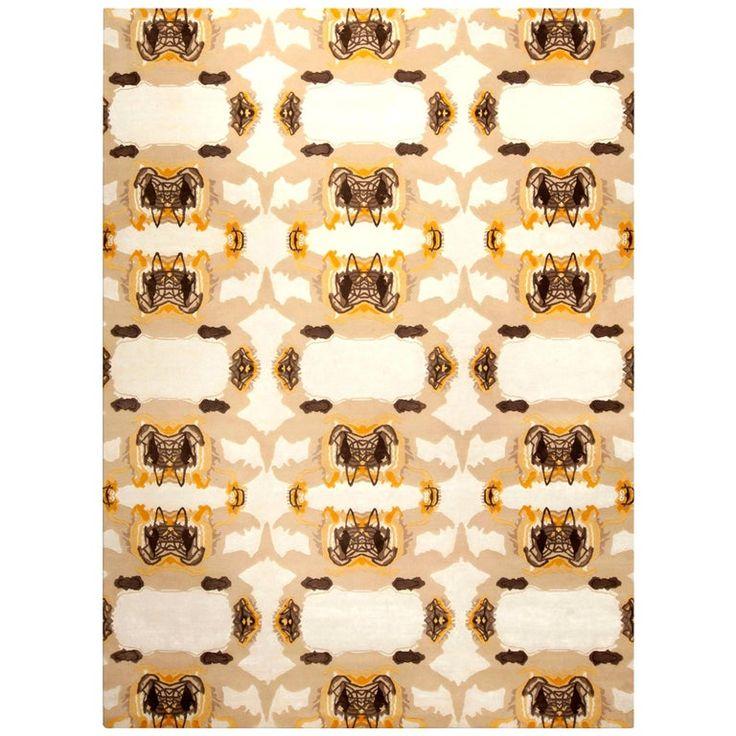 Eskayel Wool -Culebra Contemporary Indian Carpet
