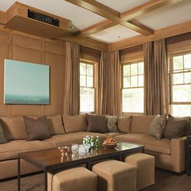 19 best ideas about media theatre room on pinterest for Multi purpose living room ideas