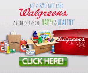 Free Walgreens Gift Card http://azfreebies.net/free-walgreens-gift-card/