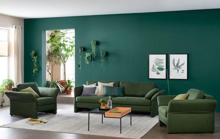 Schoner Wohnen Maxi Sofa Timeless Dunkelgrun Stoff In 2020 Schoner Wohnen Wohnzimmer Wohnen