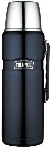 thermos stainless king 2 liter 68 ounce beverage bottle midnight blue by nissan. Black Bedroom Furniture Sets. Home Design Ideas