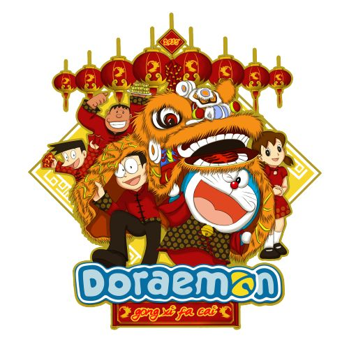 #Kaos #Desain #Baju #Design #TShirt #Doraemon #Rupawa