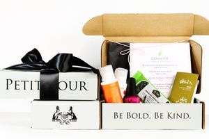Petit Vour Petit Vour is a monthly delivery of cruelty-free beauty products, hand-picked from businesses that align quality with progressive standards. In your box, you'll receive beauty & grooming samples from brands like Acure, AHAVA, Beauty Without Cruelty, DuWop, Hourglass, LUSH, Pacifica & Tarte. Monthly boxes to the US are $15, and $25 to Canada.