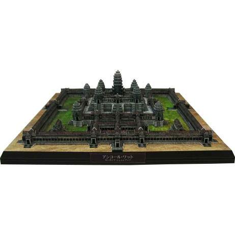 Cambodja Angkor Wat, de bouw, papier ambachtelijke, Azië en Oceanië, Boeddhisme, Cambodja, ruïnes, tempel, Wereld heritage, gebouw