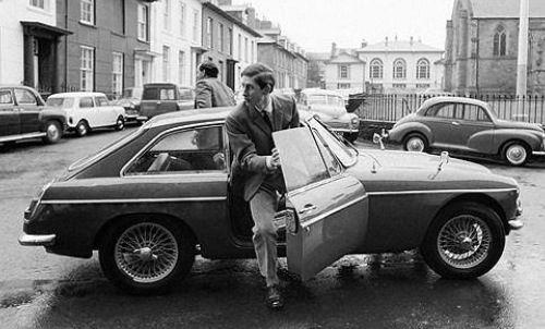 Prins Charles MGC GT 1968