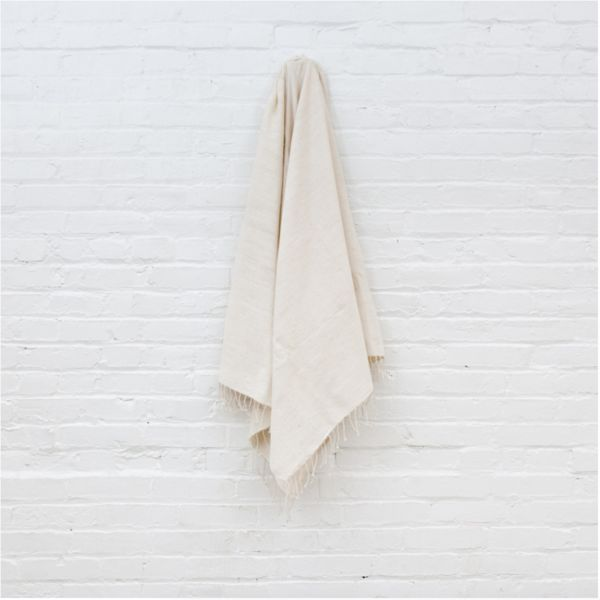 Natural Ribs Bath Towel | Ethiopia | TWENTY ONE TONNES