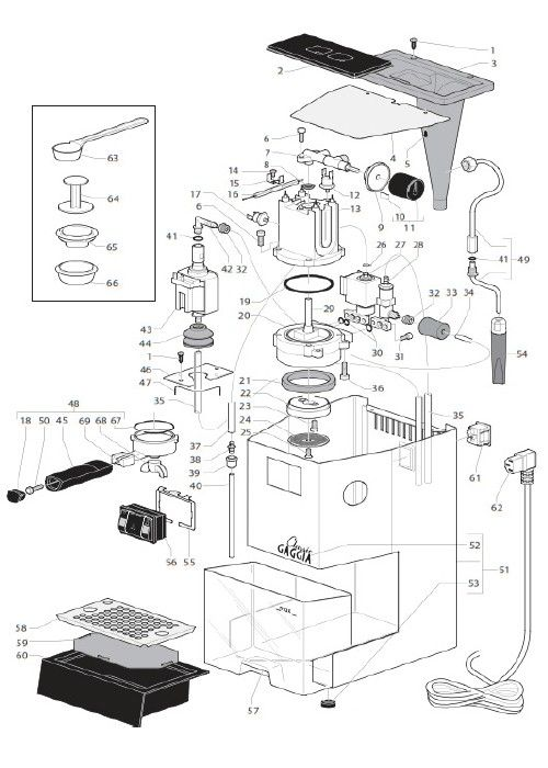 how to use gaggia espresso machine