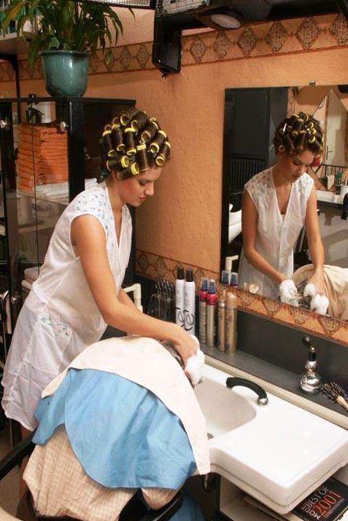 440 best salon boi 39 s images on pinterest beauty salons for Wash hair salon