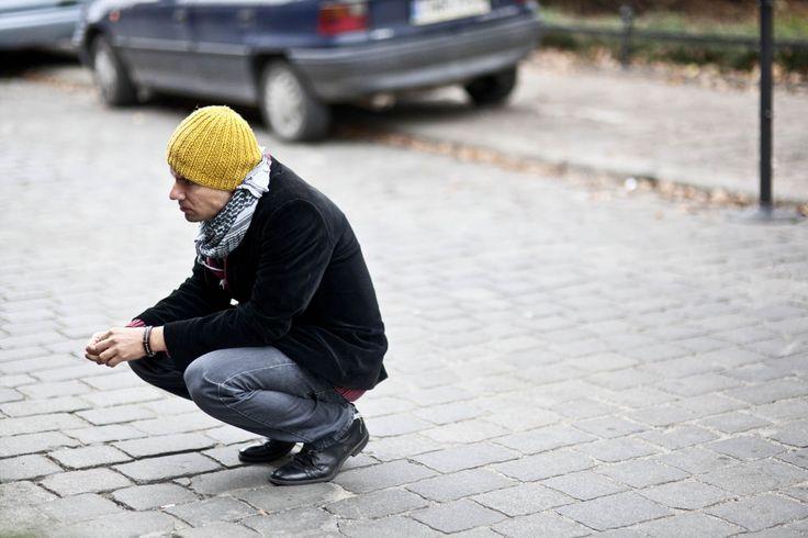 Tomasz Cymerman - writer and director   // photo by Marta Filipczyk