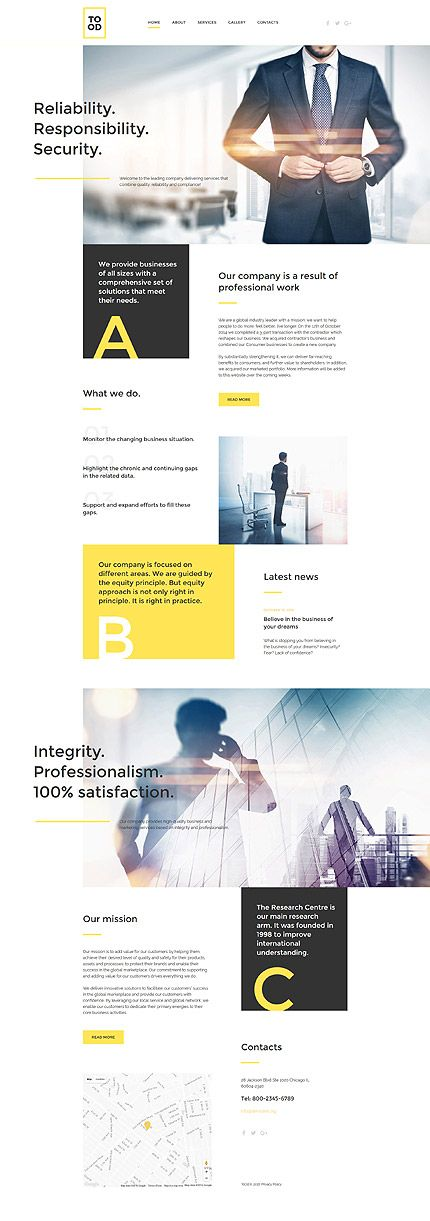 1019 best website templates images on pinterest professional business solutions website template themes business responsive websitethemes cheaphphosting Gallery