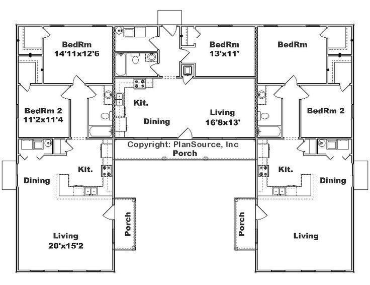 Wonderful U Shaped House Plans With Courtyard 2 Courtyardushaped ...