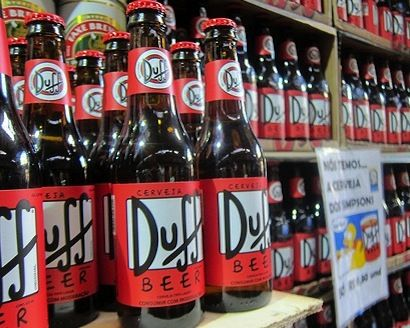 'The Simpsons' Duff Beer