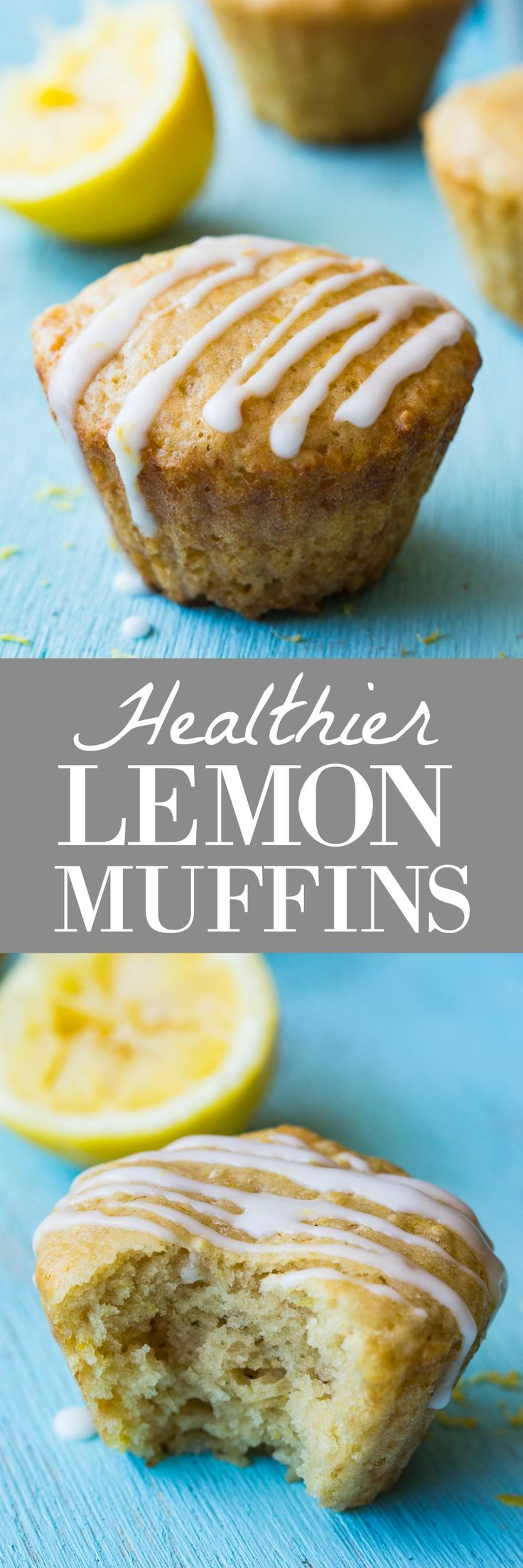 This small batch of healthier lemon muffins will definitely brighten up your breakfast in the morning. Made with whole wheat flour, greek yogurt, and fresh squeezed lemon juice.  Healthier Lemon Muffins.  In a small batch.  To prevent the problem that occurs with things that taste really good.  Eating all of them.  Which then defeats the...Read More »