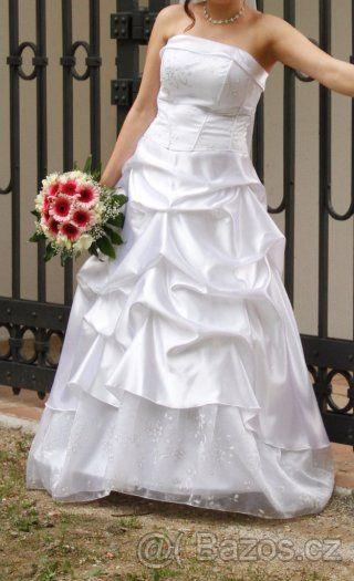 Svatební šaty bílé - 1