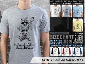 Kaos Guardian of The Galaxy Terbaru, Kaos Film Guardian of The Galaxy, Kaos Film Guardian Galaxy 3D