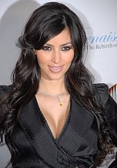 Kim Kardashian (1980 - ) (2007)- an American television and social media personality, socialite, and model. Born and raised in Los Angeles, California, Kardashian first gained media attention through her friendship with Paris Hilton, but she received wider notice after a 2003 sex tape with her former boyfriend Ray J was leaked in 2007. Later that year, she and her family began to appear in the reality television series Keeping Up with the Kardashians.