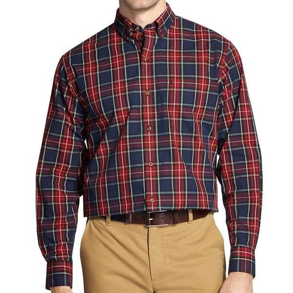 2020 Classic Plaid Long Sleeve Shirt Check Shirt Men With