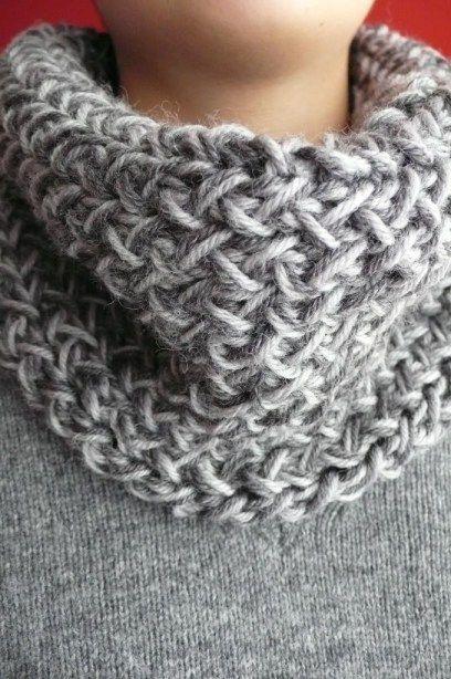 Come fare uno scaldacollo a maglia