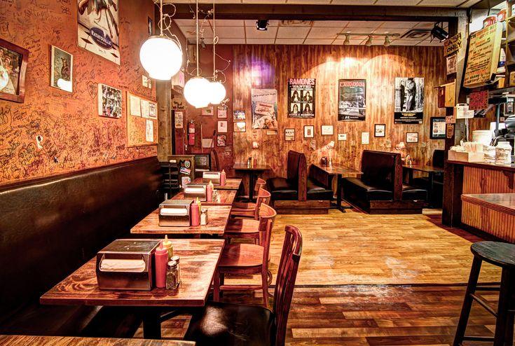 Burger Joint - Le Parker Meridien   Midtown  Burgers (tucked away best juicy burgers) http://www.parkermeridien.com/eat4.php
