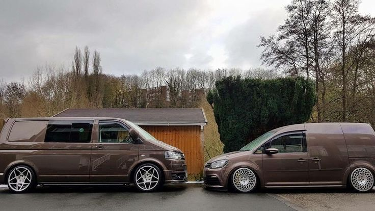 VW T5 & Caddy, toffee brown