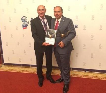 Με το τιμητικό δίπλωμα «Για το δυναμισμό και την επιθυμία για την ηγεσία» («For Dynamic and Striving for Leadership») βραβεύτηκε το Γραφείο ΕΟΤ Ρωσίας...