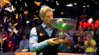 Neil Robertson at Champion of Champions