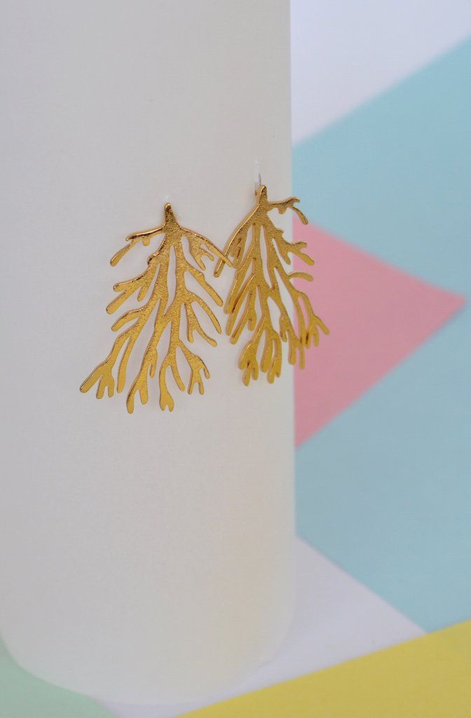 Earrings Coral reef-Donella