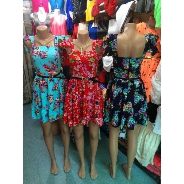 Платье Маленькие цветочки