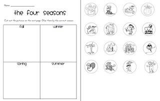 new 889 first grade seasons worksheet firstgrade worksheet. Black Bedroom Furniture Sets. Home Design Ideas