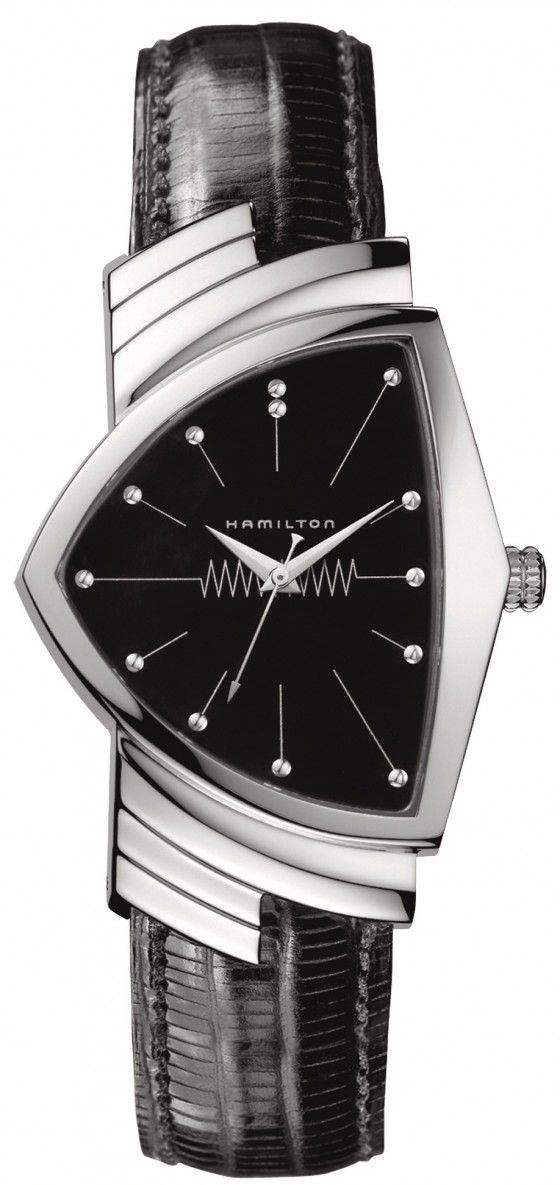 "Men In Black 3 Hamilton Ventura Watches. This has a 40's ""streamline"" vibe."