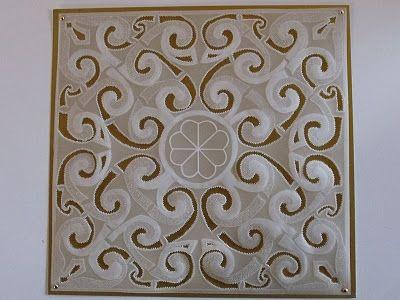 Perfect Parchment Craft Blog: Free Parchment Craft Pattern 'Spirals'