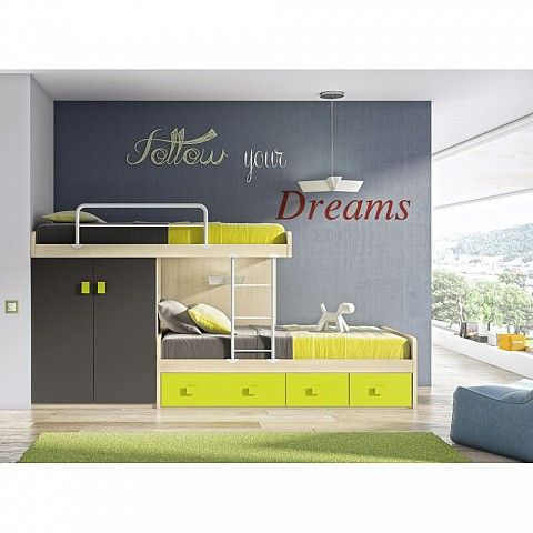 Boys Double Bedsmall Rooms