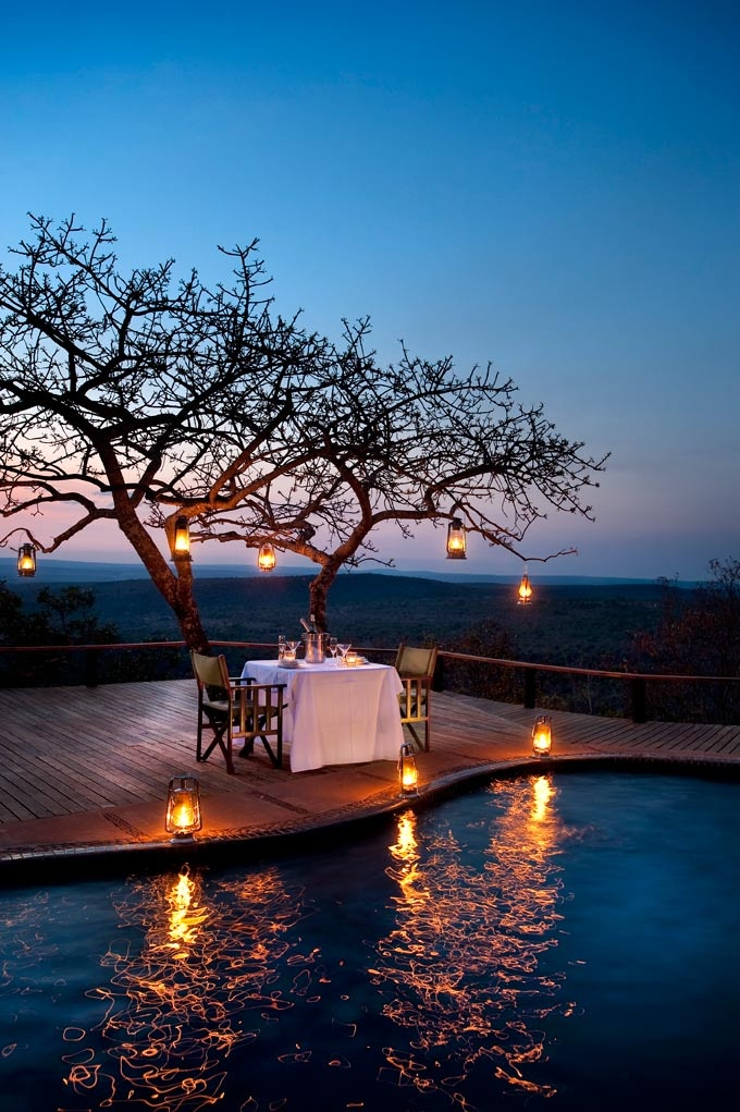 The Observatory. Leobo Private Reserve in the middle of the Waterberg in Limpopo.