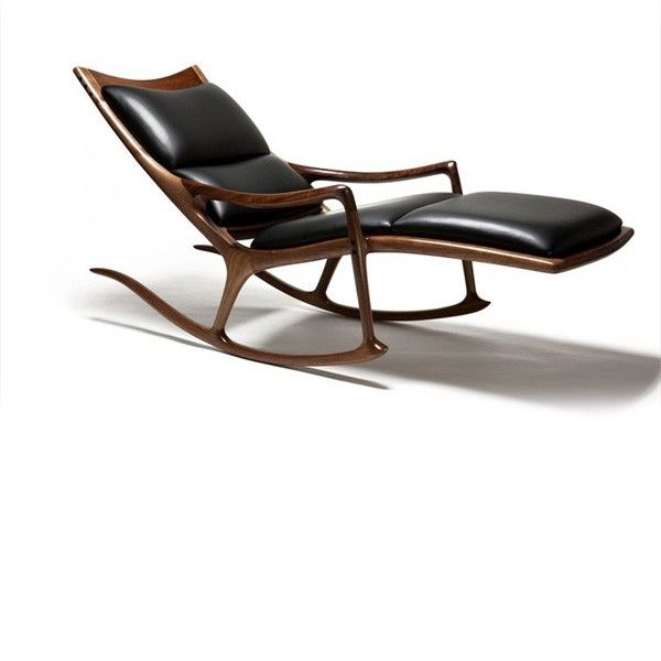 wooden wishbone rocking chair design by toby howes furniture hay scupltured chair three sizes. Black Bedroom Furniture Sets. Home Design Ideas