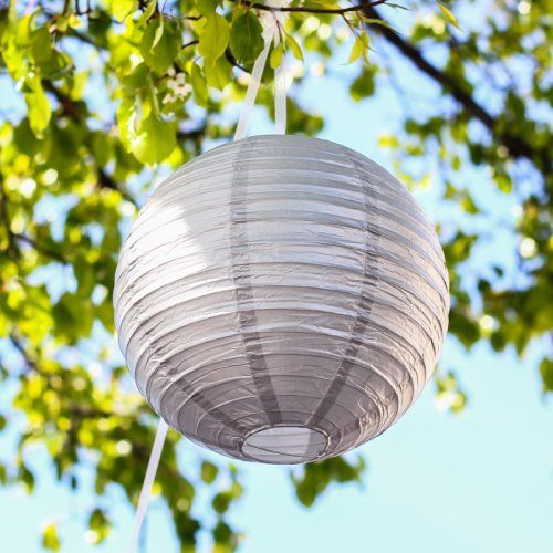 Round Metallic Paper Lanterns by Beau-coup