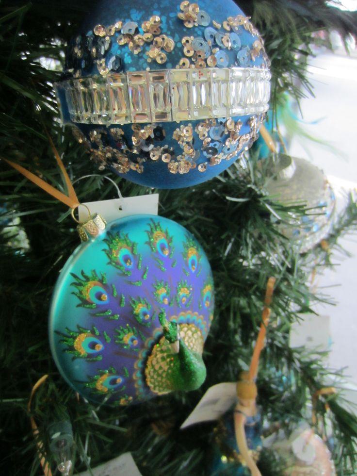 Peacock & Deco Ball