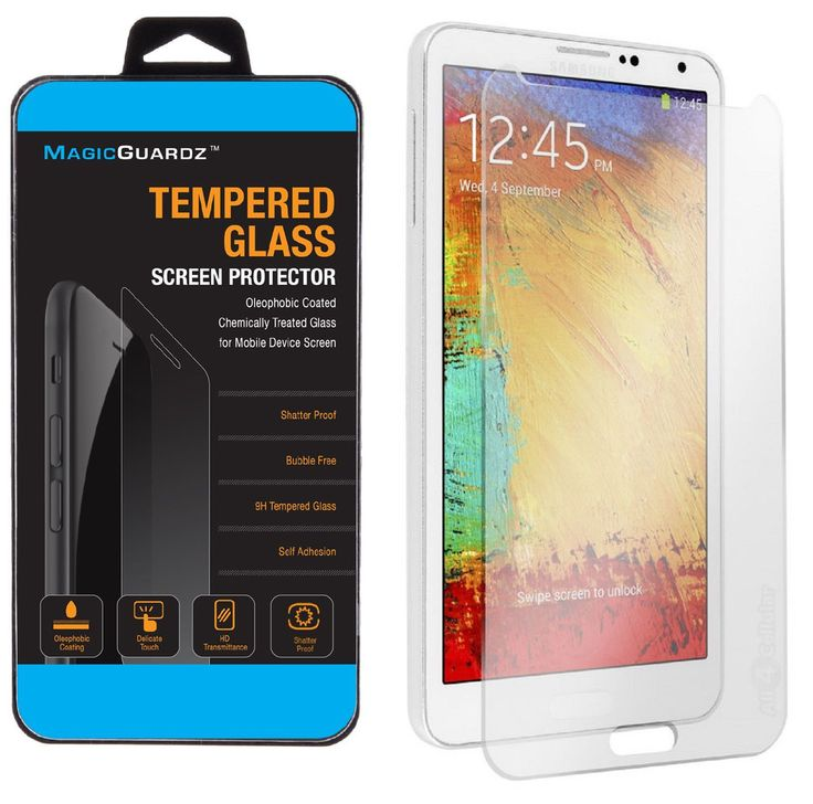 Premium Tempered Glass Screen Protector Film for Samsung Galaxy Note 3 N9000  #samsung #samsungmobile #screenprotector #samsungscreen
