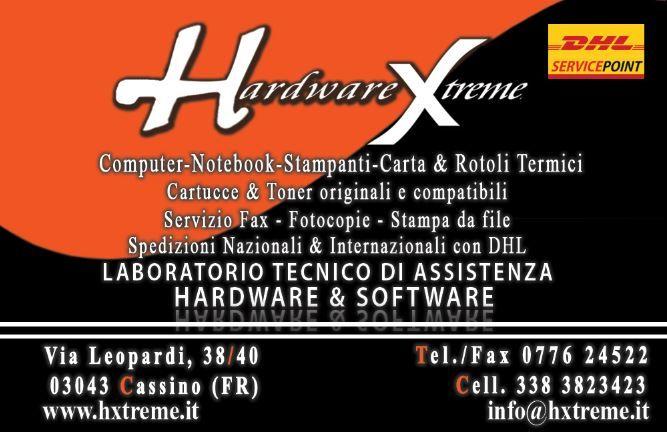 Biglietto da visita - Hardware Xreme