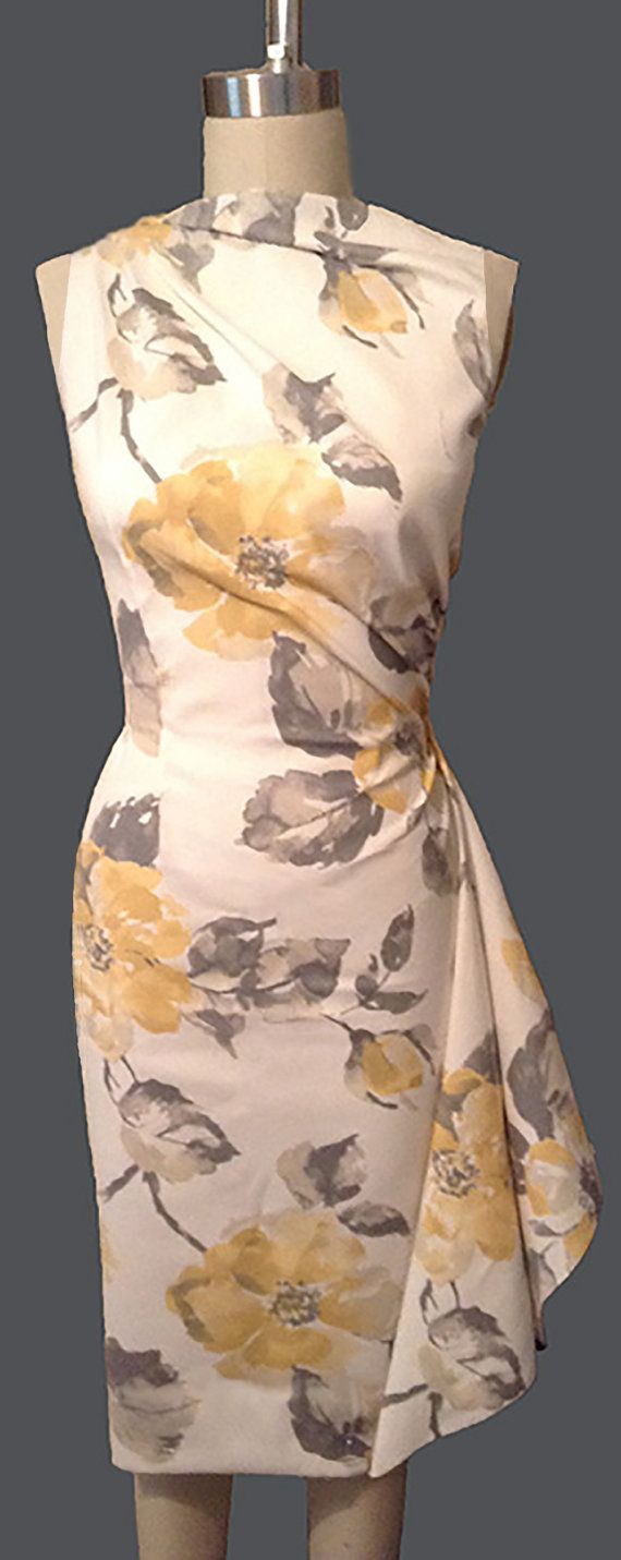Floral Watercolor Dress by NinaLou85 on Etsy