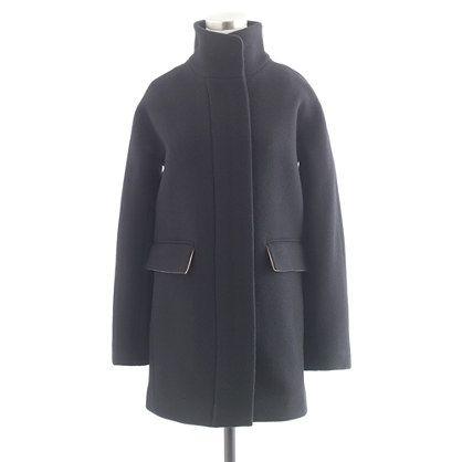 I really like it.  Stadium-cloth cocoon coat