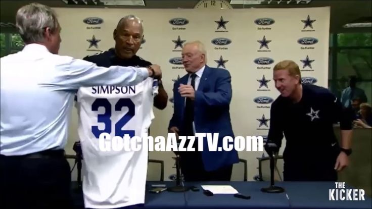 AFTER OJ SIMPSON MADE PAROLE, THE DALLAS COWBOYS CALLED AND SIGNED HIM TO A 1YR / 15 MIL DEAL TO BACK UP EZEKIEL ELLIOT.. Support GotchaAzzTV by Subscribing,...