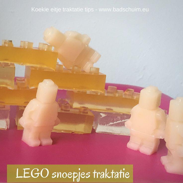 snoep in de vorm van lego