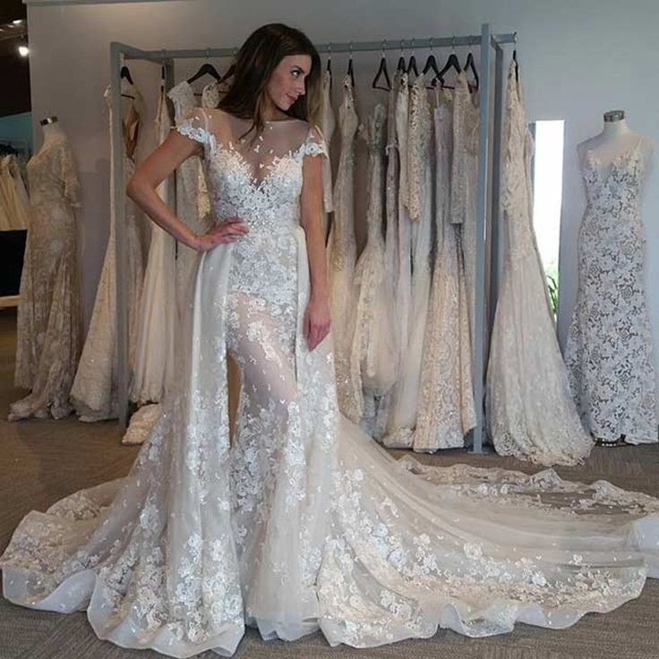 explore detachable wedding dress
