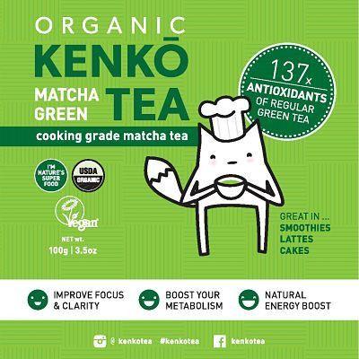 Organic Matcha Green Tea - 100g - Buy Online Australia |