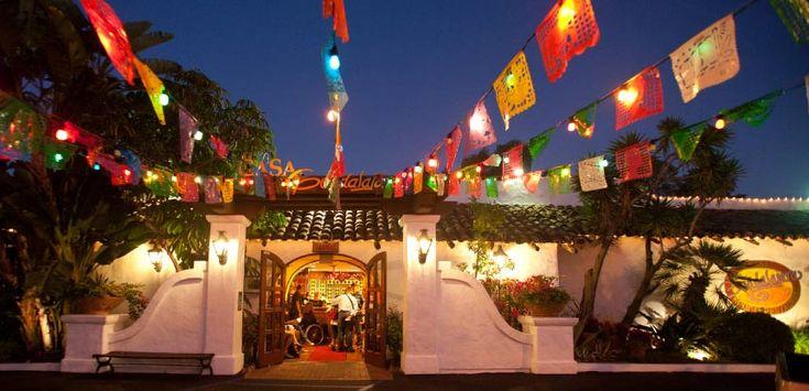 Casa Guadalajara Best Mexican Restaurant & Cantina Old Town San Diego California