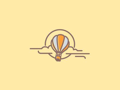 Ballooning brand element