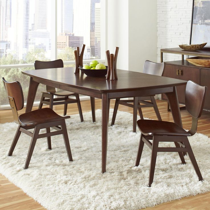 Find This Pin And More On Furniture. Modern Harmony 5 Pc Dining Table ...