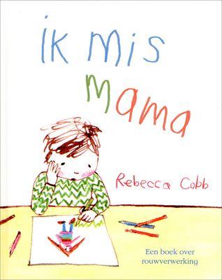 // Rebecca Cobb - Ik mis mama // Dit prentenboek geeft een treffende, gevoelige impressie over de verwarring waarin een kleuter terecht komt nadat zijn moeder is overleden. Het jochie (ik-figuur) begrijpt het niet, gaat haar zoeken, is boos en bang. Papa probeert het uit te leggen en samen met zijn zusje halen ze herinneringen op. Maar het gemis blijft.