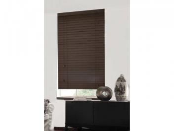 Persiana para Home Office/Quarto/Sala Tabaco - Horizontal Bambu 160x140cm - Topflex Persianas