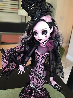 Used Monster High Draculaura Collector Doll